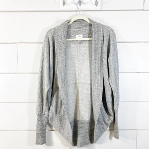 Aritzia Wilfred Diderot Gray Knit Cocoon Cardigan